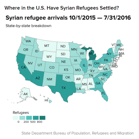 refugee map
