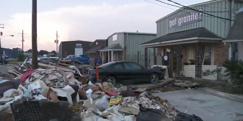 VIDEO: What It Looks Like For A Business To Take Four Feet Of Water In Two Hours