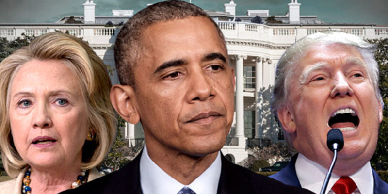 Where's the Collusion? Check Out the FBI, CIA, Obama, and the Democratic Party