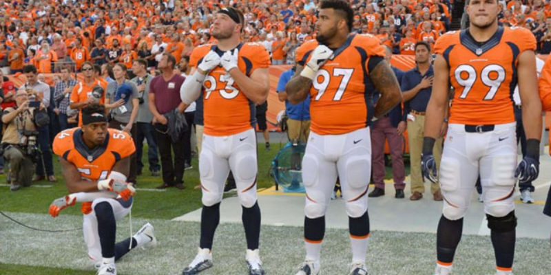 The NFL Is Playing With Fire On This National Anthem Business