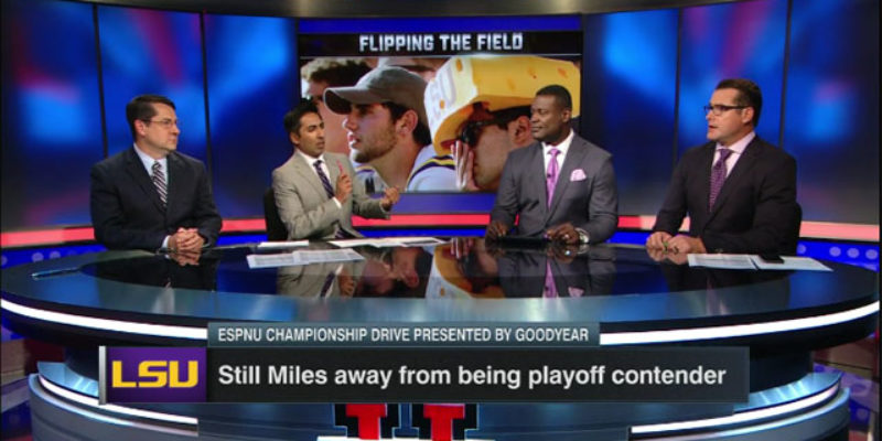 VIDEO: ESPNU Unloads On Les Miles In Brutal Segment Tuesday
