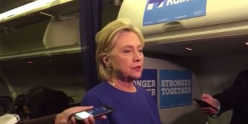 VIDEO: It Looked A Little Like Hillary Was The One Who Got Bombed Yesterday