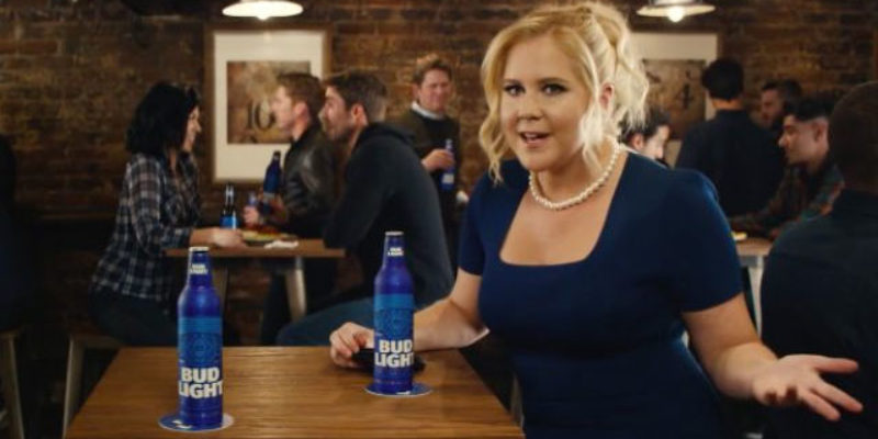 InBev Kills The Bud Light Election Ads With Amy Schumer And Seth Rogen