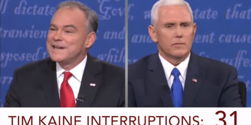 VIDEO: Boy, That Guy Kaine Was A Jackass Last Night, Huh?
