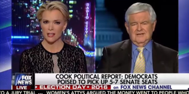 Watch This Video Of Newt Gingrich And Megyn Kelly Talking About Sex If You Want…