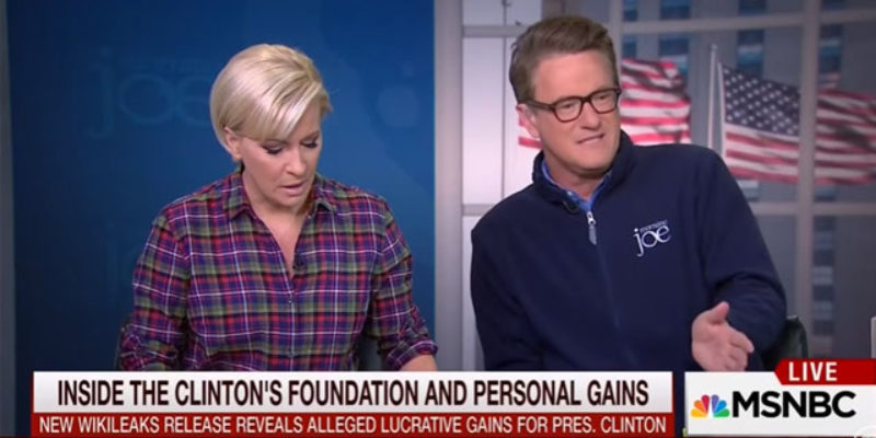 VIDEO: MSNBC's 'Morning Joe' Crew Goes Ballistic Over The 'Clinton, Inc.' Revelations