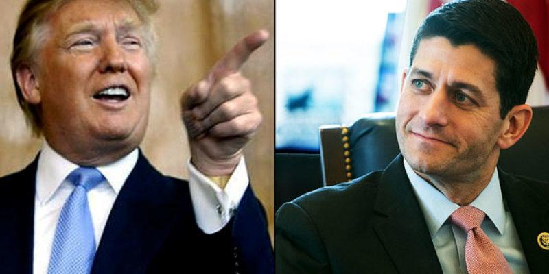 The Donald Trump-Paul Ryan Catastrophe