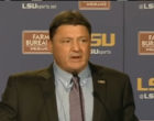 Positives, And Concerns, Surrounding Ed Orgeron As LSU's New Head Football Coach