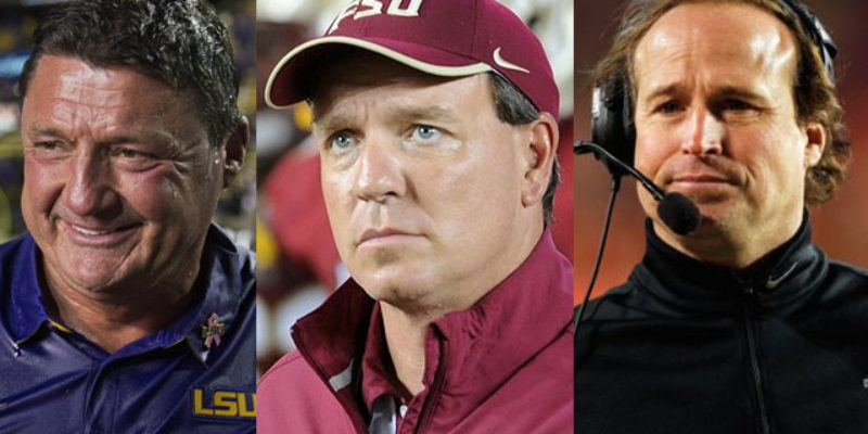 A Few Items On The LSU Football Coaching Search