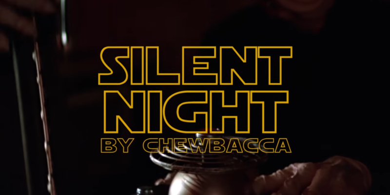"VIDEO: Chewbacca Singing ""Silent Night"" Should Get The Whole Galaxy In The Christmas Spirit"