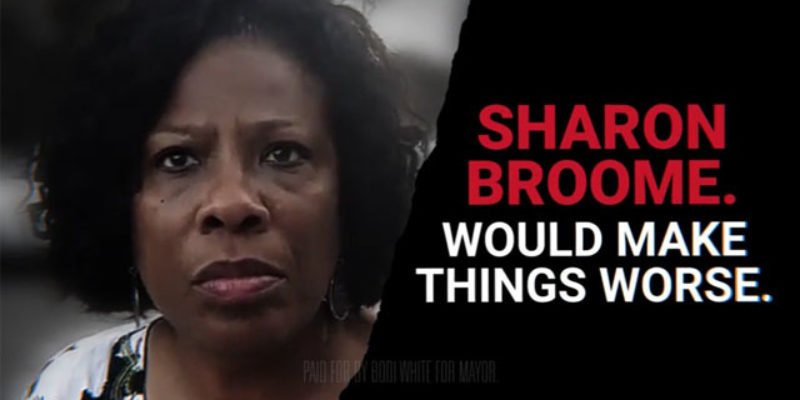 Sharon Weston Broome Just Sent A Letter Bragging About Her Administration's Progress, And It's Just…