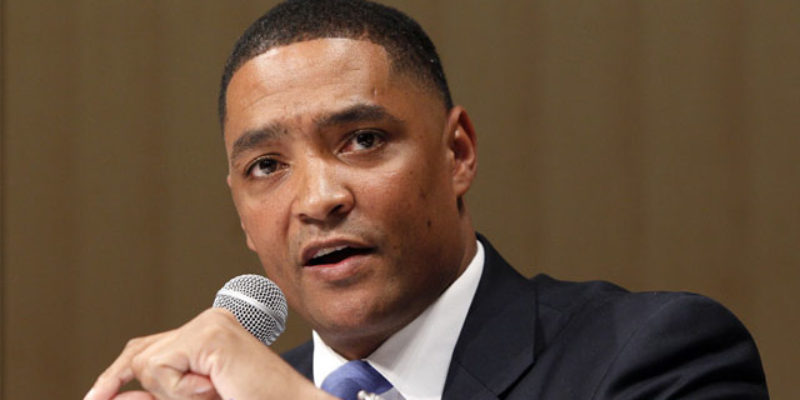 Cedric Richmond 'May Just Have To Kick Somebody's Ass' If An Anti-Cop Painting Is Removed From Capitol Hill