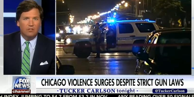 VIDEO: Tucker Carlson Destroys Gun Grabber Who Claims Gun Control Works