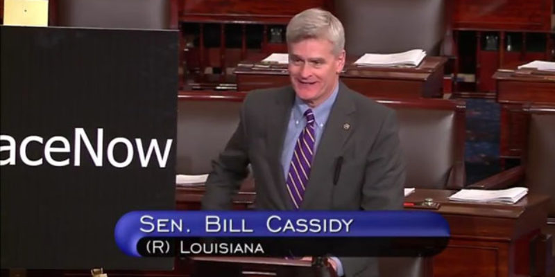 "Here's How Bill Cassidy Responded After A Left-Wing Protester Demanded He ""Apologize"" To Her Children"