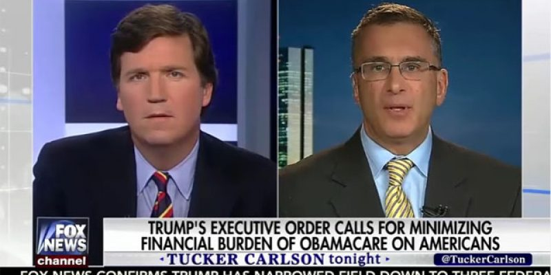 VIDEO: What Tucker Carlson Did To Johnathan Gruber Last Night Was, Well…