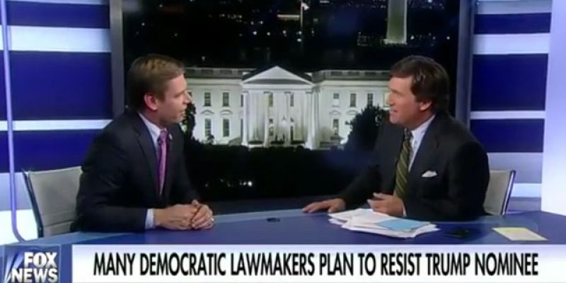 VIDEO: Here's A Tucker Carlson Double Feature, With An Uncommonly Stupid Congressman And An Old Lady With Purple Hair