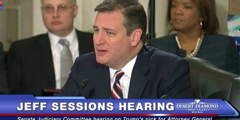 VIDEO: Ted Cruz Lights Up Senate Democrats On The Rule Of Law