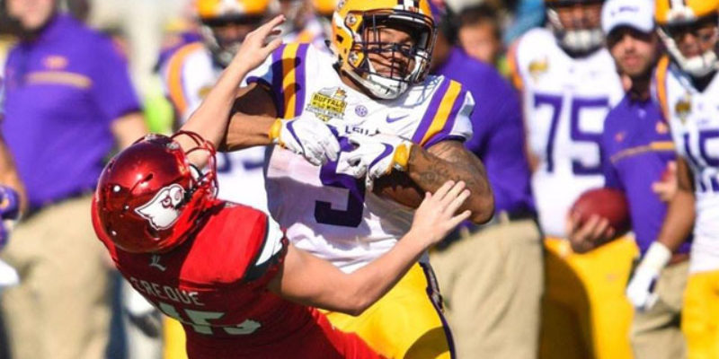 VIDEO: Watch All Of LSU's 29-9 Beatdown Of Louisville In Just 29 Minutes!