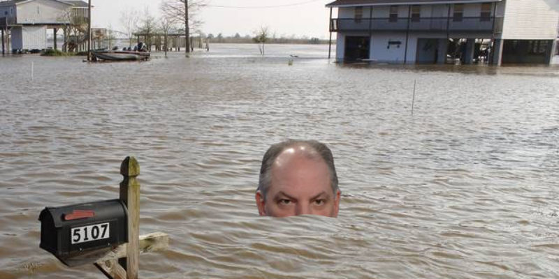 JBE Claims He Saved $23 Million By Re-Bidding The Flood Recovery Contract…