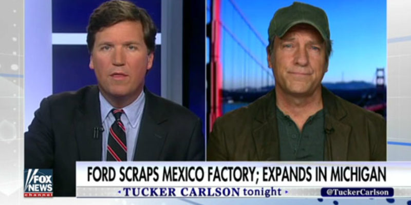 VIDEO: If You Haven't Seen Mike Rowe On Tucker Carlson Talking About College, You Need To