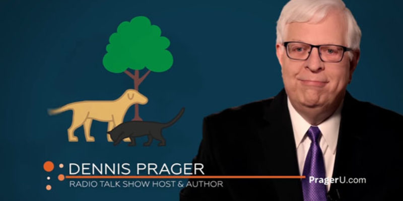 PRAGER U: Are Humans More Valuable Than Animals?