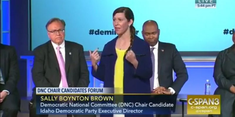 "Have You Seen The Video Of The DNC Chair Candidate Who Says Her Job Is To ""Shut Other White People Down?"""