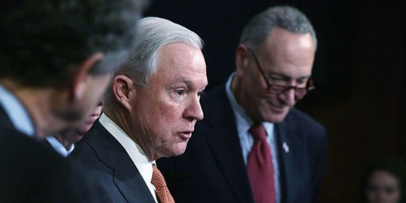 Here's How Pathetic The Democrats Trying To Get Jeff Sessions Are…