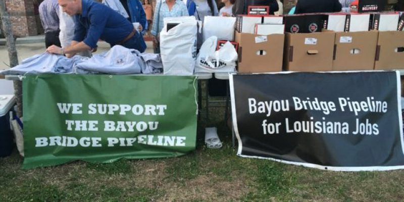 EXCLUSIVE: Bayou Bridge Pipeline Opponents Distributed Anti-Police Pamphlets In Napoleonville