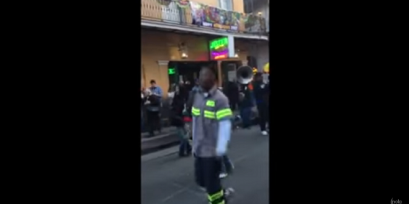 VIDEO: Watch These Trash Men Get Funky On Bourbon Street