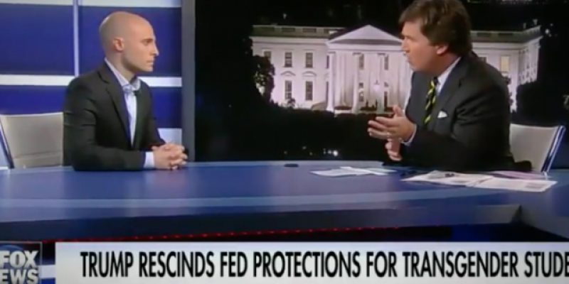 VIDEO: Tucker Carlson Debates A DNC Strategist On Transgender Bathrooms, And Exposes The Idiocy Of The Left's Position