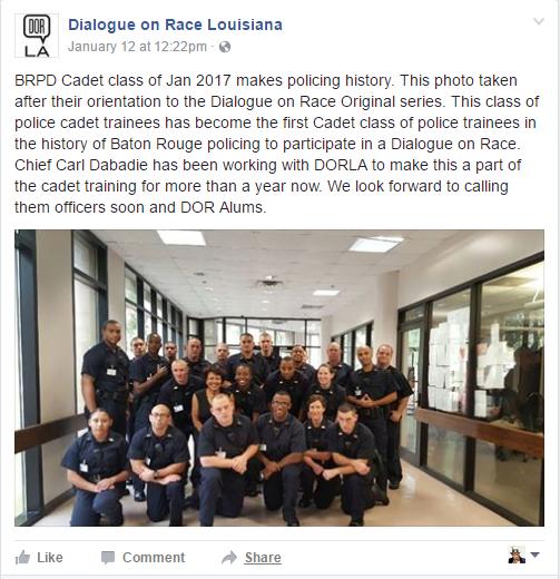 dialogue on race cops class