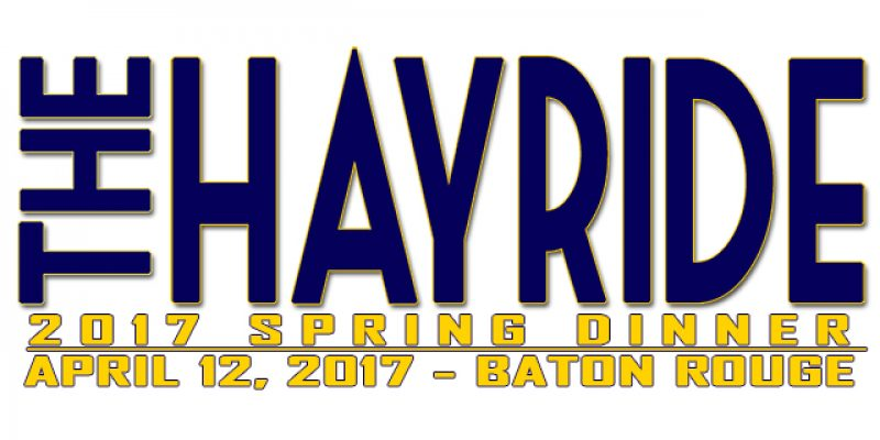 Join Us On April 12 For The Hayride's 2017 Spring Dinner!
