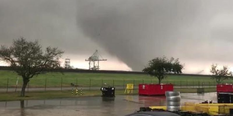 VIDEO: Here's Some Way, Way Too Close Footage Of The New Orleans East Tornado Last Week