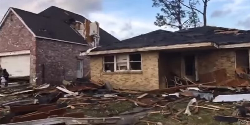 VIDEO: Crazy Survival Stories In The Aftermath Of The New Orleans East Tornado