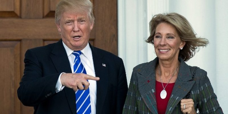Betsy DeVos Was Just Confirmed On A 51-50 Vote As Education Secretary