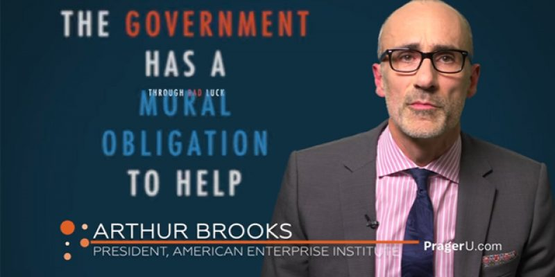 PRAGER U: There is Only One Way Out of Poverty