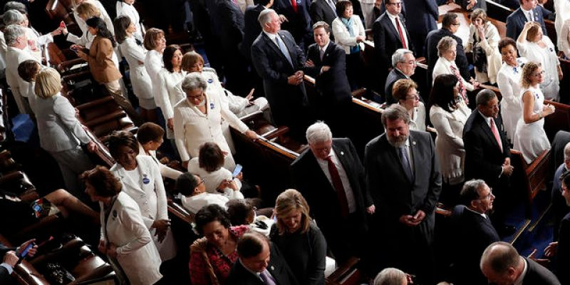 Who Came Up With The Idea That Democrats Should Wear White To Trump's Speech?