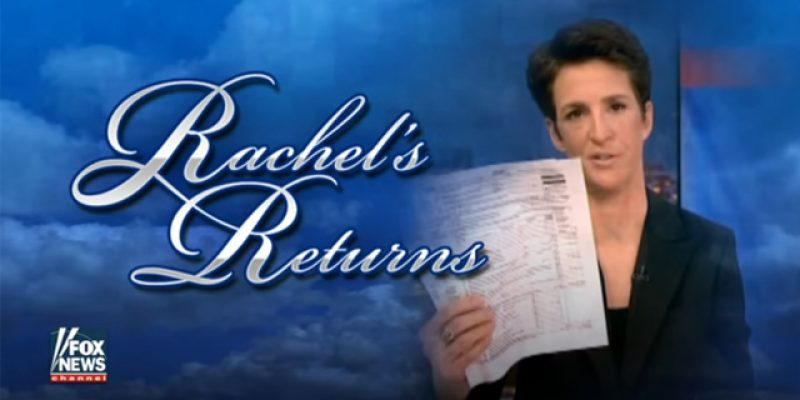 VIDEO: Greg Gutfeld Rips Rachel Maddow On Trump's Tax Returns