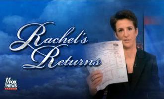 VIDEO: Greg Gutfeld Rips Rachel Maddow On Trump's Tax Returns