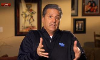 If You Haven't Seen John Calipari's Segment From Sunday Night's ESPN Bracketology Show, Here's Your Chance