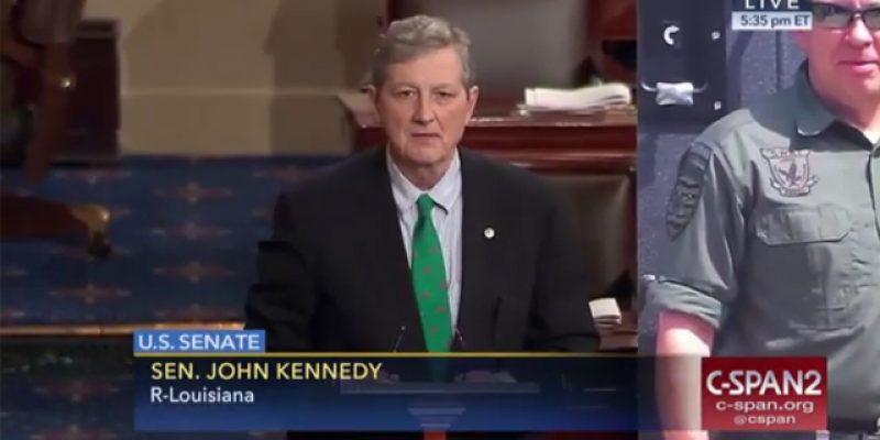 VIDEO: Kennedy And Cassidy Honor Fallen EBRSO Deputy Shawn Anderson On The Senate Floor