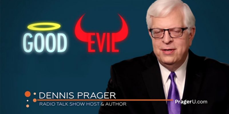 PRAGER U: If There Is No God, Murder Isn't Wrong