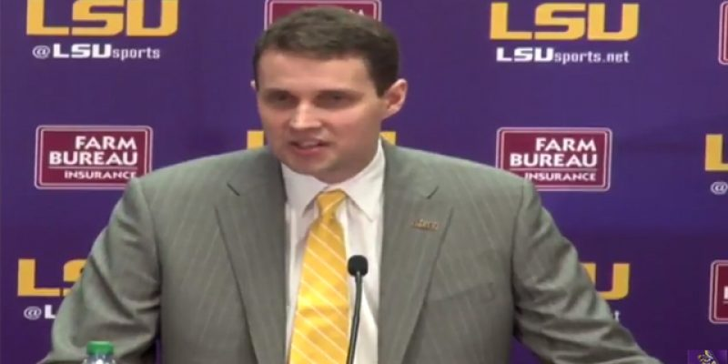 VIDEO: Will Wade's Introduction As LSU's Basketball Coach