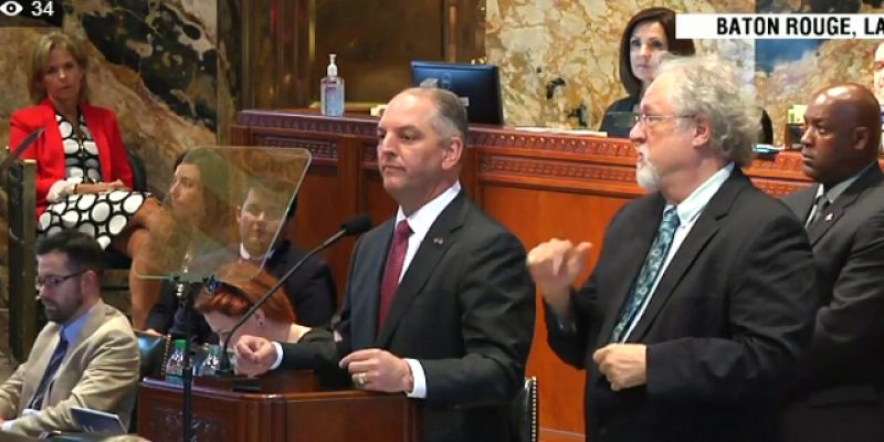 For Once, John Bel Edwards Says Something Which Is Not Wrong
