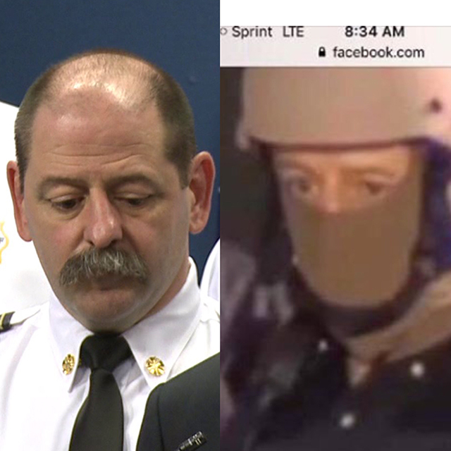 nofd chief masked and unmasked