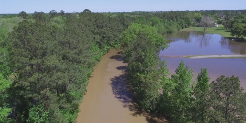 VIDEO: Once Again, We Have Drone Footage Of Louisiana Under Water