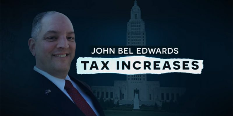 JBE's Gross Receipts Tax Plan Has Earned Him The Most Brutal Attack Ad Of The Year So Far