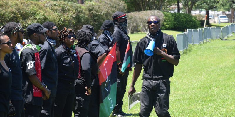 Here's What Happened At The New Black Panther Protest In BR Saturday