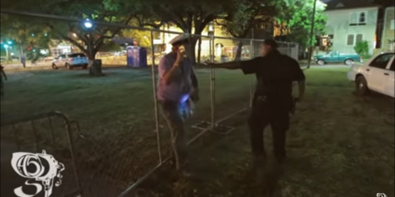 VIDEO: Watch New Orleans Police Rough Up And Arrest A Monument Supporter