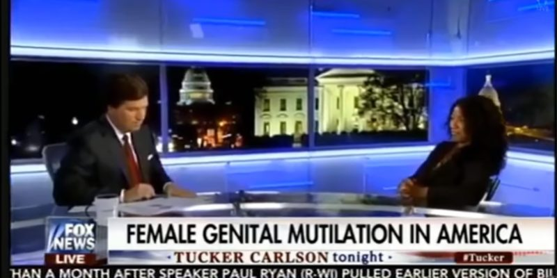 "VIDEO: Tucker Carlson Has On A Woman Who Defends ""Female Circumcision,"" And…"